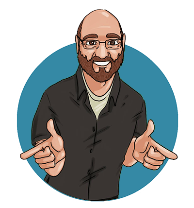 Cartoon profile image of Jerry Simmons, Website Designer and Developer at Fervent Solutions