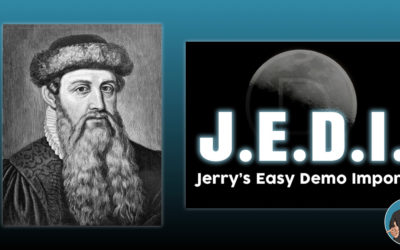 Gutenberg Content And J.E.D.I.   Jerry's Easy Demo Import