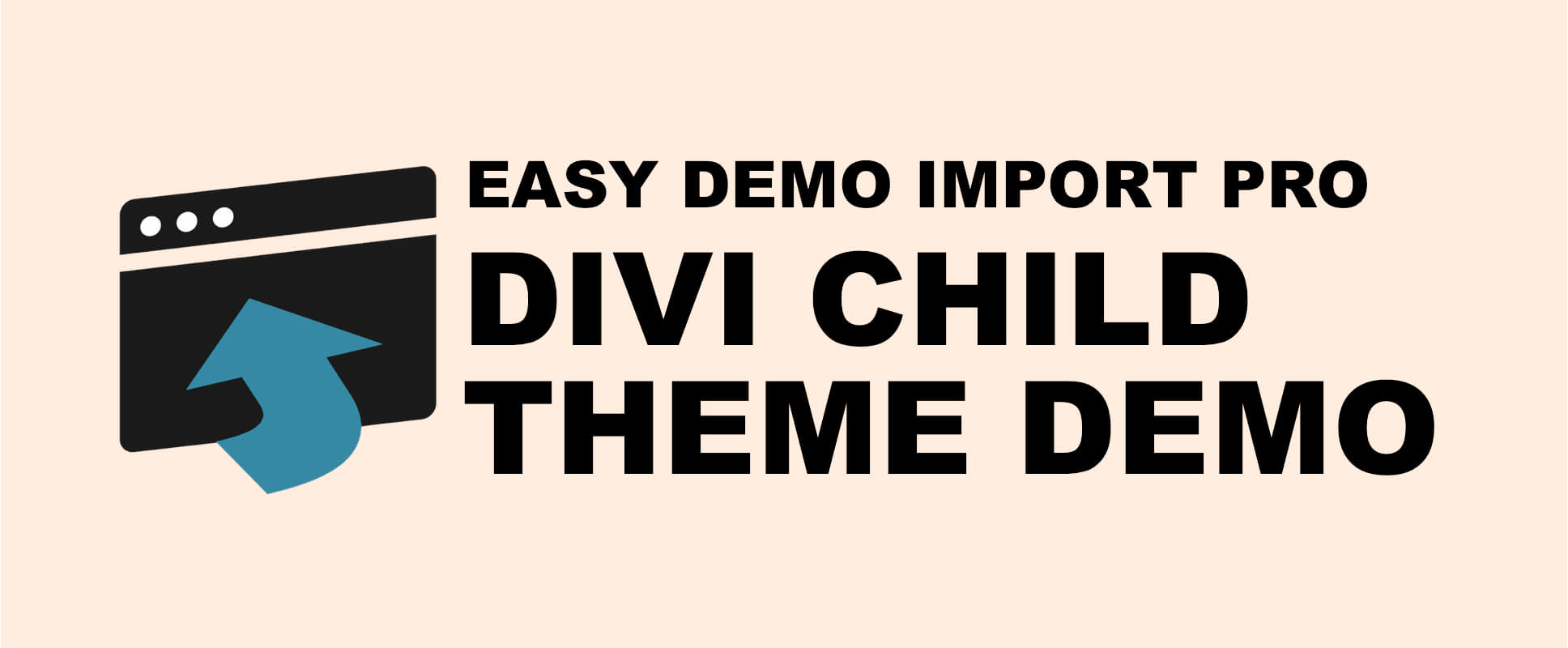 Easy Demo Import - Child Theme Demo For Divi - Fervent Solutions
